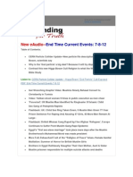 End Time Current Events 7-8-2012