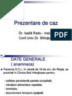 Prezentare de Caz Boli Infectioase 1