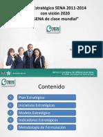 Plan Estrategico Sena 2011 - 2014