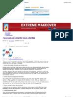 7 passos para manter seus clientes – PEGN – ExtremeMakeOver