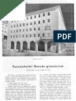 Pannonhalmi Bences-gimnázium, 1947