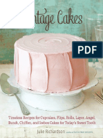 Recipes From Vintage Cakes by Julie Richardson