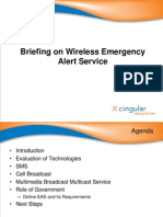 Cingular - Briefing on Wireless Emergency Alerting Systems 5-30-06