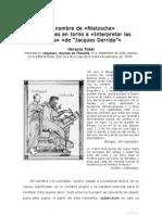 En Nombre de Nietzsche - Horacio Potel