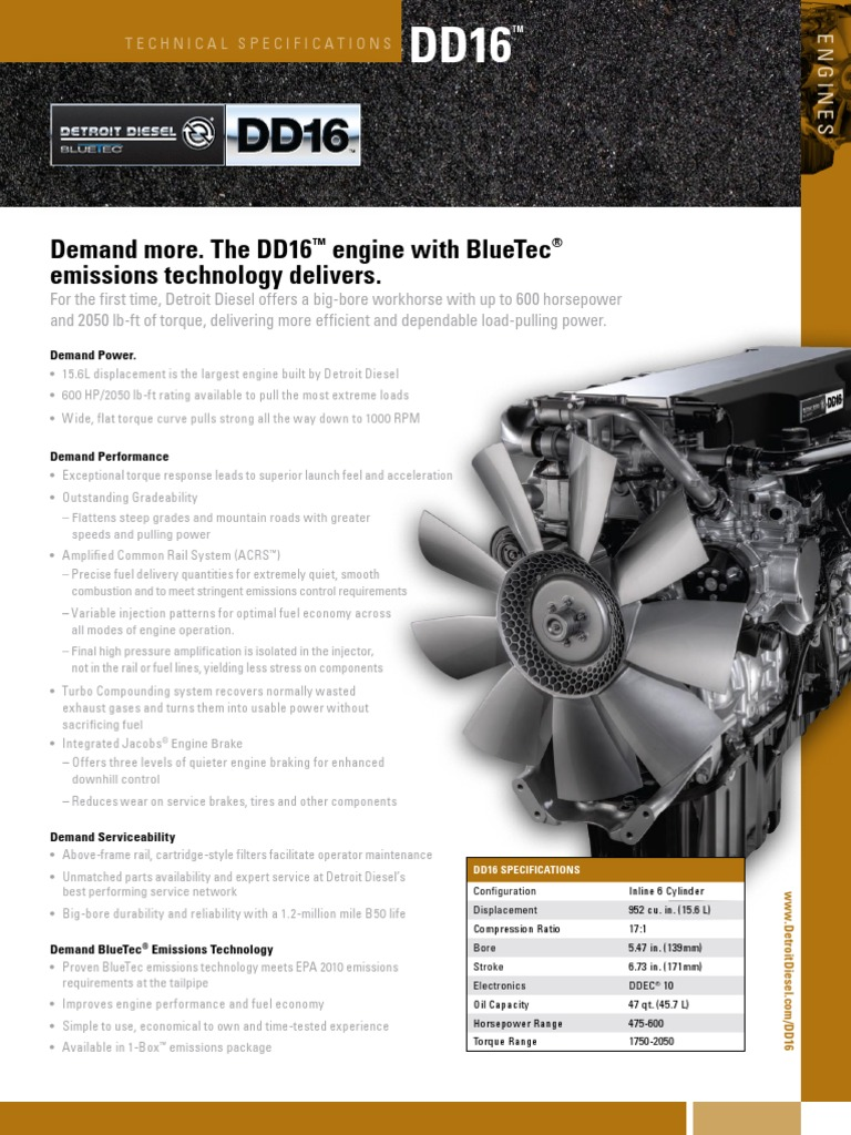 Pages | Diesel Engine | Horsepower