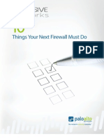 10 Things Firewall Must Do