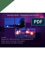 Barclays India - VisualBee