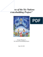 History of Six Nations Peacebuilding Project_062812