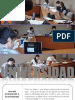 JORNADA PREPARACIÓN UNIVERISDAD