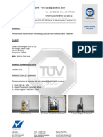 Tuv Hardness Test on Hocen Penetrating Lubricant and Hocen Engine Treatment
