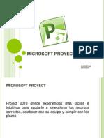 Microsoft Proyect 2010