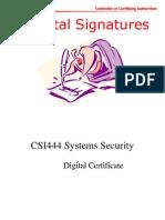 Digital Signature Presentation