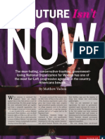 The Future Isn't NOW (National Organization for Women), by Matthew Vadum (Townhall magazine, March 2011)