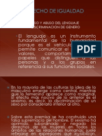 Discriminacion en El Lenguaje