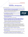 USPS Postplan Implementation- PMR Opportunity PMRS -July-9-2012