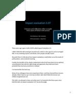 2011 - Impact Evaluation 3 (DFID Talk)