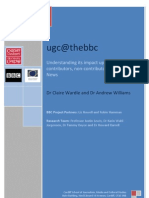 BBC - Claire Wardle - Report On UGC (2009)