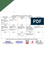 Agenda de Atividades - Greve de Ocupação - CEFET/RJ (semana de 9 a 13 de julho)