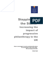 Carnegie UK - Stepping Up Stairs - Progressive Philanthropy Impact (2005)