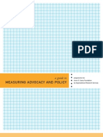 Casey Fdn - Measuring Advocacy and Policy