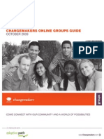 ChangeMakers - Online Groups Guide - 2009