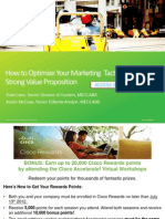 Accelerate! Webinar - How to Optimize Your Marketing Tactics with a Strong Value Proposition
