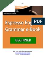 Free English Grammar eBook Beginner