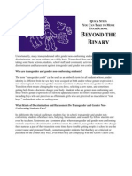 Beyond the Binary Executive Summary