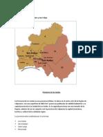 Mapa Provincia de Los Andes