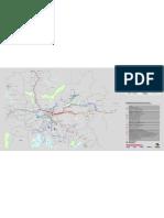 Mapa da Rede Metropolitana de São Paulo [JUL.08]