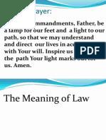 Conscience & Moral Law