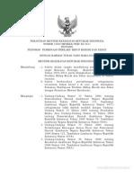 PERMENKES No. 2269-Menkes-Per-XI-2011 Ttg Pedoman PEmbinaan Perilaku Hidup Bersih Dan Sehat