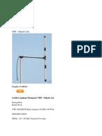 Antena Dipole
