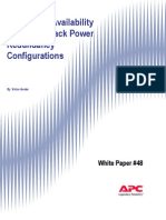 48-Comparing Availability of Various Rack Power Configuratio