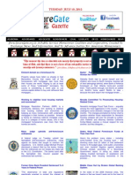 Tuesday - July 10, 2012 - ForeclosureGate Gazette