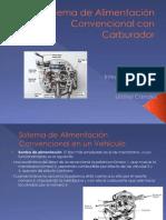Sistema de Alimentación Convencional con Carburador FINAL