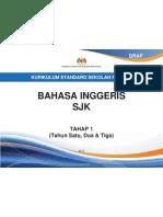 Dokumen Standard  Bahasa Inggeris SJK Tahap 1 (Tahun 1, 2 dan 3)