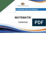 Dokumen Standard Matematik SK Tahun 2