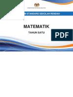 Dokumen Standard Matematik SK Tahun 1