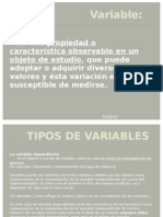 Pasos para la operacionalización de variables