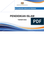 Dokumen Standard Pendidikan Islam Tahun 2