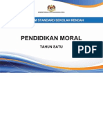 Dokumen Standard Pendidikan Moral SK Tahun 1