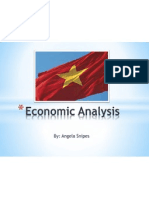 vietnam economic analysis and marketing plan presentation -angela snipes