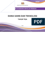Dokumen Standard Dunia Sains Dan Teknologi SK Tahun 3