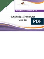 Dokumen Standard Dunia Sains Dan Teknologi SK Tahun 2