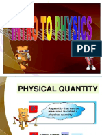 Chap 1 Introduction to Physics