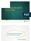 Estratégia da Marca Banco Real