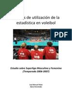 2012 Formas de utilización de la estadística en voleibol (Formas de utilización de la estadística en voleibol)
