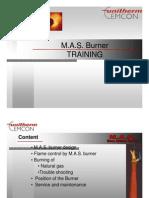 Unitherm MAS-SW Gas Burner Staff-Training [Compatibility Mode]