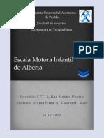 Escala Motora Infantil Alberta